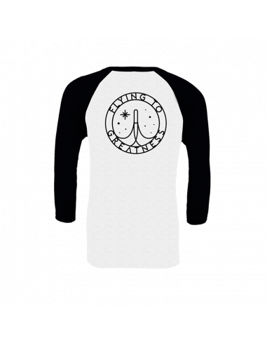 RAGLAN SPACECAMP BLACK WHITE
