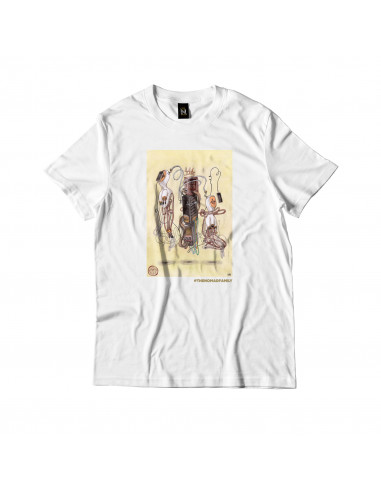 SOLITUDE SERVER TEE WHITE