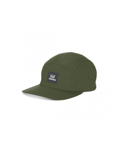 NOMAD CROWN 5PANEL CAP OLIVE