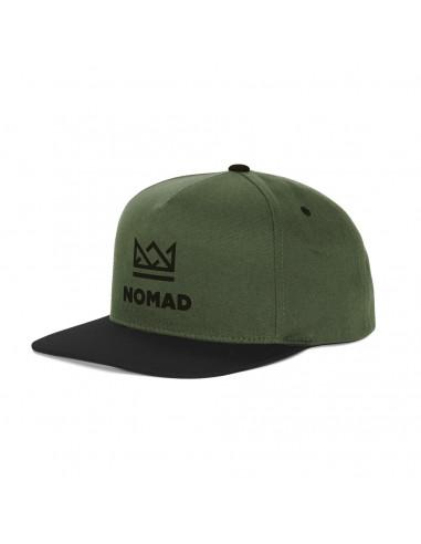 NOMAD CROWN 5PANEL CAP OLIVE
