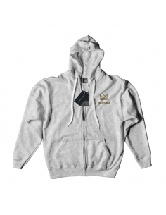 OG LOGO ZIPPER ASH GREY