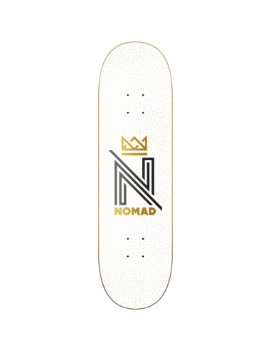 OG LOGO WHITE DECK 7.75""