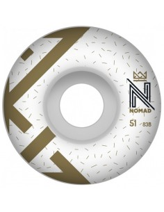 WHEELS OG LOGO WHITE - 51 MM