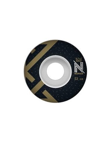 WHEELS OG LOGO BLACK - 53 MM